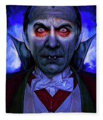 Dracula Fleece Blanket