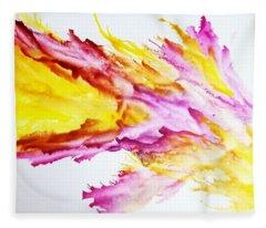 Dragon Breath Fleece Blanket