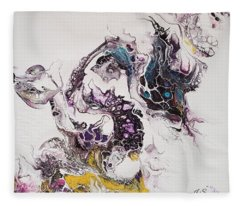 Dragon Breathe Fleece Blanket