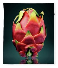 Dragon Fruit Or Pitaya  Fleece Blanket