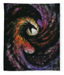 Dragon Galaxy Fleece Blanket