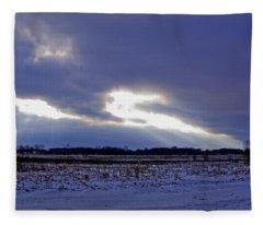 Dragon Light Fleece Blanket