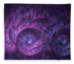 Dragon Nebula Reloaded Fleece Blanket