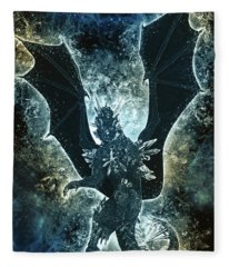 Dragon Spirit Fleece Blanket