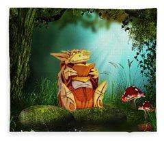 Dragon Tales Fleece Blanket