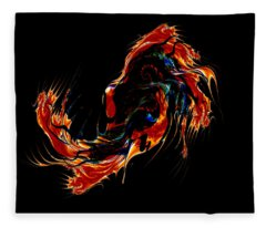 Dragon Within Fleece Blanket