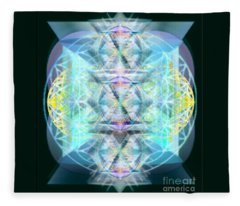 Dragon's Chalice Fleece Blanket