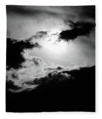 Dramatic Clouds Fleece Blanket