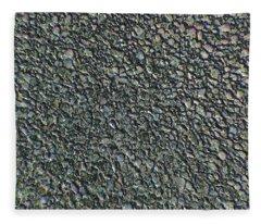Drawn Pebbles Fleece Blanket