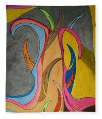 Dream 324 Fleece Blanket