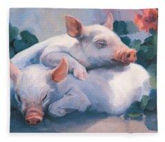 Dream Away Piglets Fleece Blanket