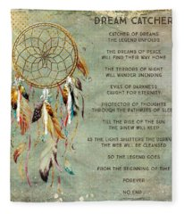 Dream Catcher Fleece Blanket