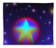 Dream Like A Super Star Fleece Blanket