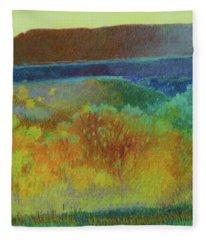 Dream Of Dakota West Fleece Blanket
