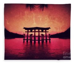 Dream Of Japan Fleece Blanket