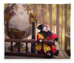 Dreaming About Far Away Countries Fleece Blanket