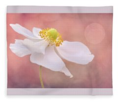 Dreaming At Dawn Fleece Blanket