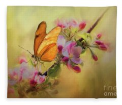 Dreaming Of Spring Fleece Blanket