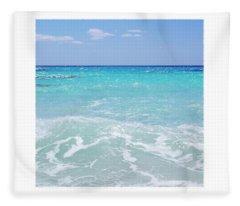 Dreaming Of The Beach Fleece Blanket