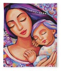 Dreaming Together Fleece Blanket