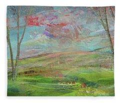 Dreaming Trees Fleece Blanket