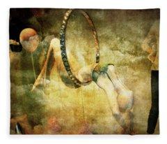 Dreamlike Vision Fleece Blanket