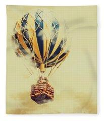 Dreams And Clouds Fleece Blanket