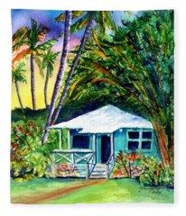 Dreams Of Kauai 2 Fleece Blanket