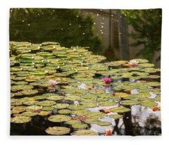Dreams Of Lily Fleece Blanket
