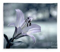 When Flowers Dream Fleece Blanket