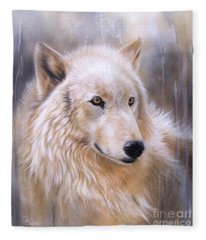 Dreamscape - Wolf II Fleece Blanket