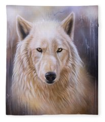 Dreamscape Wolf IIi Fleece Blanket