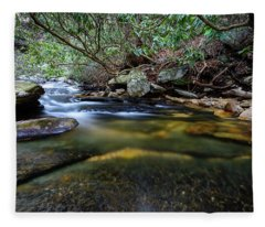 Dreamy Creek Fleece Blanket
