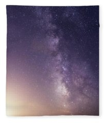 Dreamy Milky Way Fleece Blanket