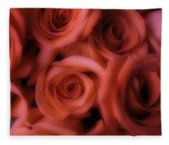 Dreamy Roses Fleece Blanket