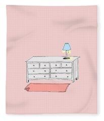 Dresser Fleece Blanket
