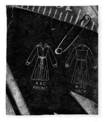 Dressmaking Handiwork Fleece Blanket