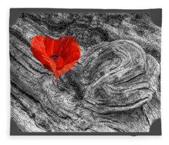 Drifting - Love Merging Fleece Blanket
