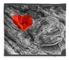 Drifting - Love Merging Fleece Blanket