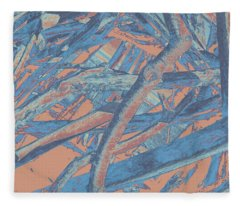 Driftwood #4 Fleece Blanket