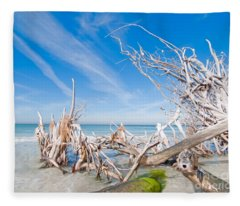 Driftwood C141348 Fleece Blanket