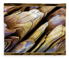 Driftwood Edges Fleece Blanket