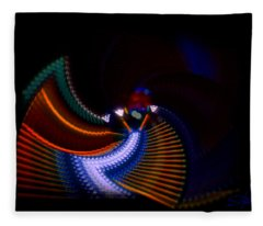 Drummer Dance Fleece Blanket