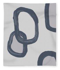 Dry Brush 3 Fleece Blanket