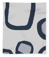 Dry Brush 4 Fleece Blanket