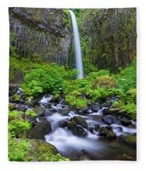 Dry Creek Falls Fleece Blanket