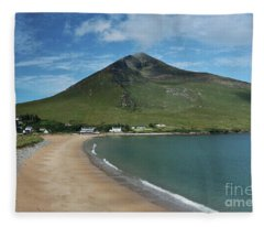 Dugort Beach Achill Fleece Blanket