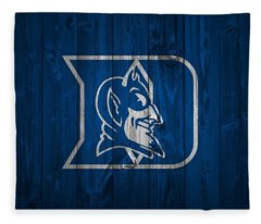 Duke Blue Devils Barn Door Fleece Blanket