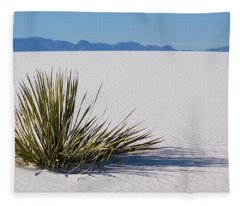 Dune Plant Fleece Blanket
