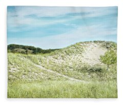 Dune Walk Fleece Blanket